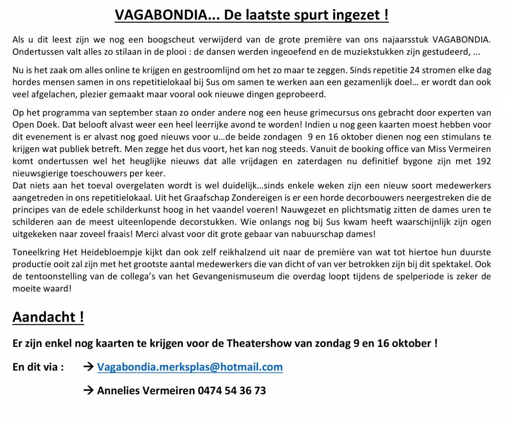 Microsoft Word - 555 VAGABONDIA DE LAATSTE EINDSPURT INGEZET.doc